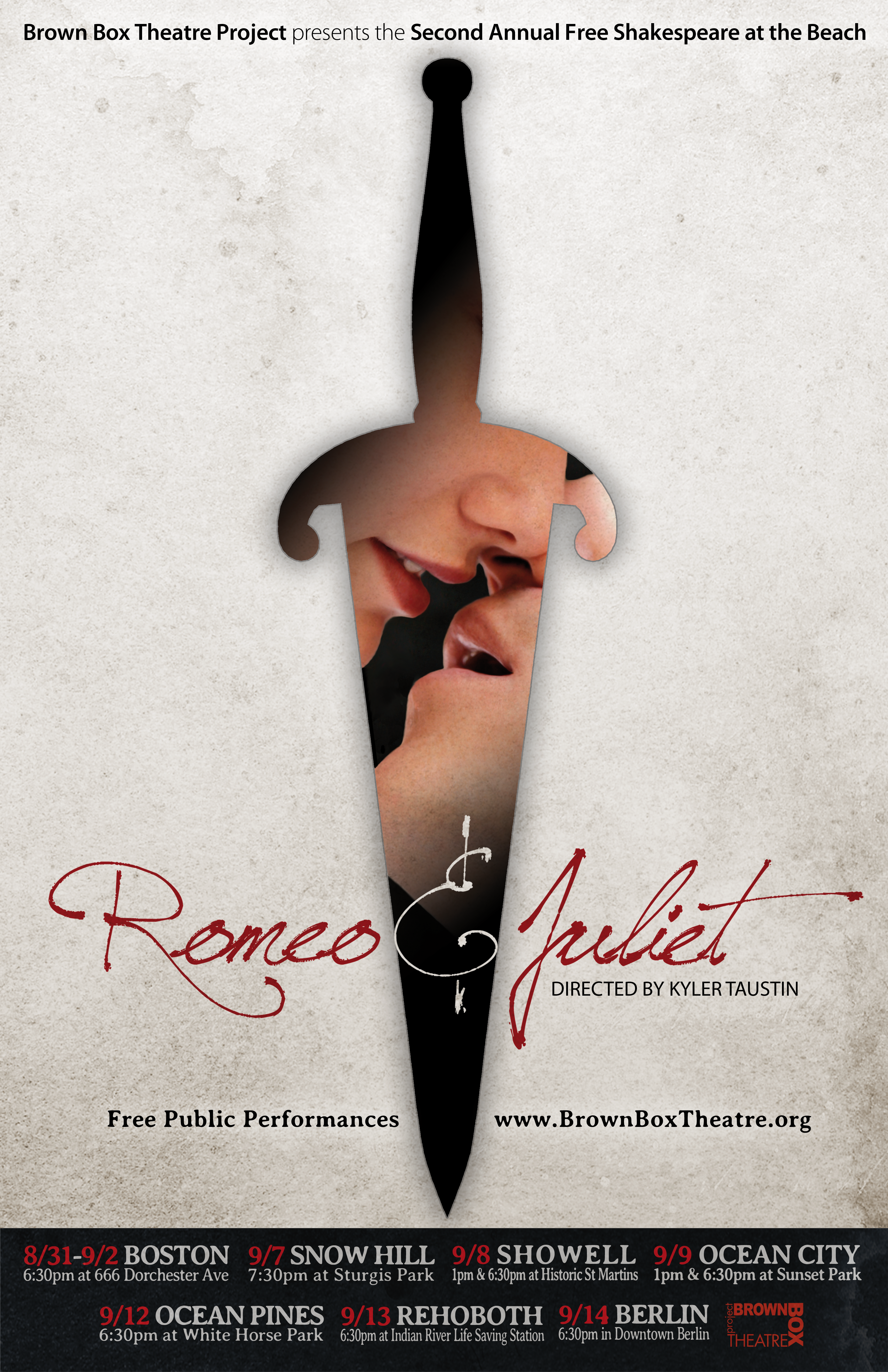 poster for a Romeo and Juliet play